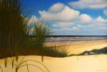 strand Katwijk (olieverf)