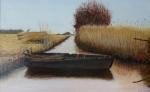 winter Giethoorn (olieverf)